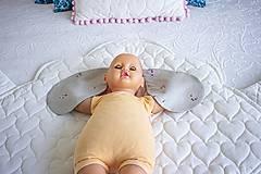 Detské doplnky - Interkatívna podložka Ovka hnedá - 10970208_