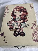 Krabičky - dievčatko krabička - 10969309_