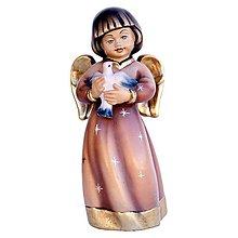 Socha - Strážny Anjel s holubicou - 10968133_
