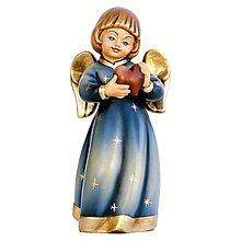 Socha - Strážny Anjel so srdcom - 10968301_