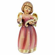 Socha - Strážny Anjel so sviečkou - 10968355_