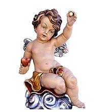 Socha - Svadobný Anjel - 10968400_