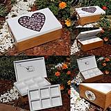 Krabičky - Šperkovnica - 10969166_