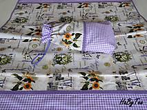 Úžitkový textil - Súprava na chalupu - 10968740_