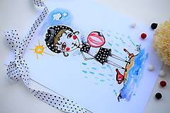 Kresby - -Kresba/víla/Na pláži- - 10970326_