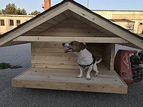 Pre zvieratká - Domček pre psíka - 10967888_