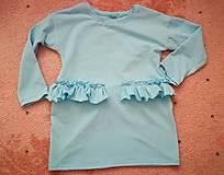 Detské oblečenie - šaty s volánom - 10972920_