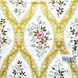 Papier - S1424 - Servítky - ornament, ruža, krajka, čipka, kvety - 10971139_
