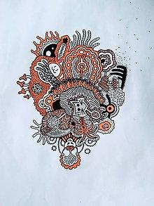 Kresby - Strapatý balón - 10971115_