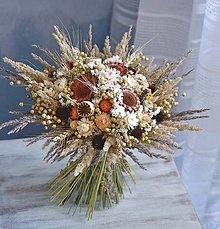 Dekorácie - Veľká kytica jesenná i celoročná - 10973167_
