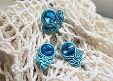Sady šperkov - Sada na bežné nosenie - Lola (Sada na bežné nosenie - tyrkysová Lola) - 10971410_