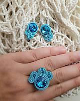 Sady šperkov - Sada na bežné nosenie - Lola (Sada na bežné nosenie - tyrkysová Lola) - 10971411_