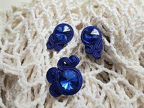 Sady šperkov - Sada na bežné nosenie - Lola (Sada na bežné nosenie - modrá Lola) - 10971458_