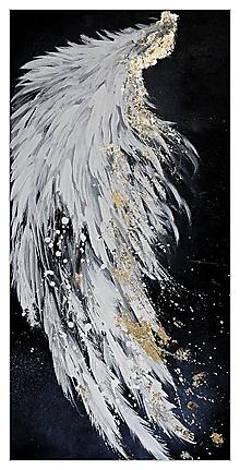 Obrazy - zlaté krídlo - 10972714_