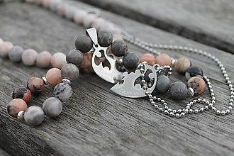 Náhrdelníky - I LOVE YOU Puzzle _ partnerské náhrdelníky - 10972275_