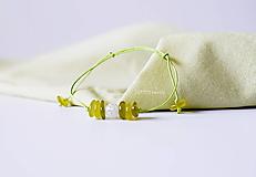 Náramky - Jemný luxus Nefrit a Krištáľ - 10973129_