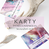 Nezaradené - KARTY TVORIVÁ INŠPIRÁCIA NA KAŽDÝ DEŇ - 10973612_
