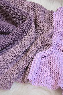 Textil - .detská deka (100% merino) - 10972717_