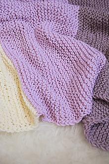 Textil - .detská deka (100% merino) - 10973383_