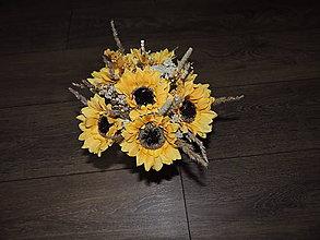 Nezaradené - slnečnicové kytice - 10972604_