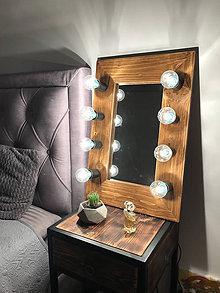 Zrkadlá - Malé zrkadlo na stôl - 10970850_