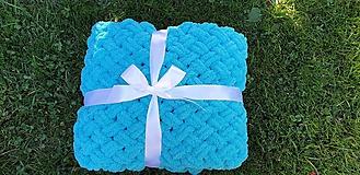 Textil - Háčkovaná deka - 10973496_