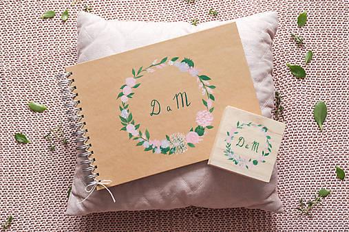 Kniha hostí a krabička nature nežné kvety/ súprava