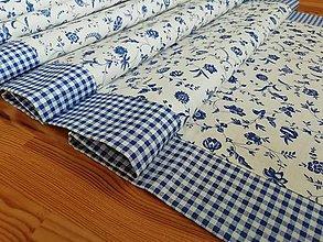 Úžitkový textil - cibulák s kostičkou - 10977143_