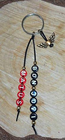Iné šperky - Vaše obľúbené prívesky kľúčenky na tašku alebo kluče prívesky aj kamene mena dátumy spravím na želanie - 10975918_