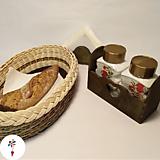 Košíky - Sada do kuchyne - 10973801_