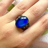 Prstene - Mood Color Changing Bronze Ring / Prsteň meniaci fabru podľa nálady - 10976480_