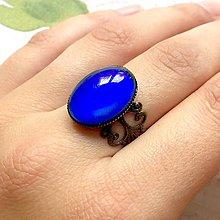 Prstene - Mood Color Changing Bronze Ring / Prsteň meniaci fabru podľa nálady - 10976479_