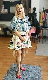 Sukne - Fitting sukňa edícia ZS pre GK design D.Moravkova - 10975806_