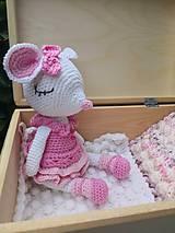Drobnosti - myška Maša v krabičke - 10976195_