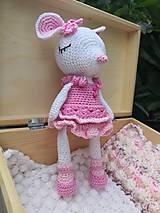 Drobnosti - myška Maša v krabičke - 10976197_