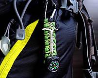 Kľúčenky - Kompas na batoh+cepínik - 10973718_