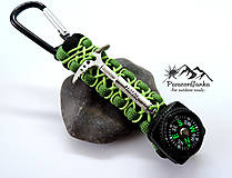 Kľúčenky - Kompas na batoh+cepínik - 10973719_