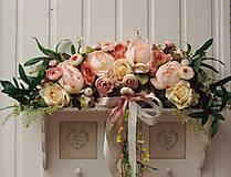 Dekorácie - Dekorácia na dvere - oblúk - 10975504_