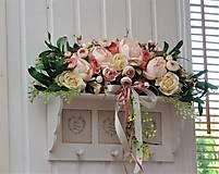 Dekorácie - Dekorácia na dvere - oblúk - 10976229_