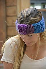 Ozdoby do vlasov - barevný melír - 10973755_
