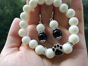 Sady šperkov - I ♥ dog - 10974481_