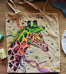Nákupné tašky - Taška so žirafou - 10975211_