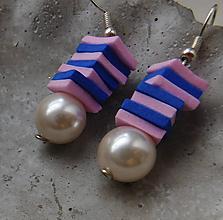 Náušnice - pastelové krásky - 10973822_