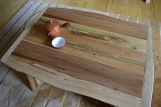 Nábytok - Čajový stolček - 10976765_