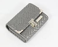 Peňaženky - Purse Middle no.1050 - 10975255_