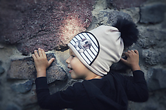 Detské čiapky - Dvojvrstvová čiapka  - 10975536_