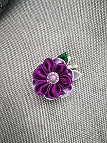 Iné doplnky - Malé kvety (Fialová) - 10974202_