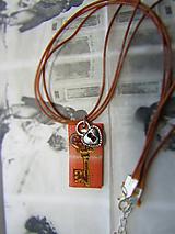 Náhrdelníky - Kľúč - 10973665_