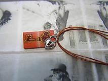 Náhrdelníky - Kľúč - 10973667_