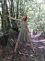 Šaty - SVĚTLÁ OLIVA - KRÁTKÉ - 10973893_